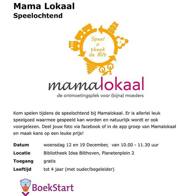 Vanaf 12 dec a.s. gaan Spel-o-theek en MamaLokaal samenwerken. Tijdens het MamaLokaal kunnen de jonge bezoekers voortaan ook met speelgoed uit Speel-o-theek spelen. Bij Speel-o-theek De Bilt kan je speelgoed lenen voor je kinderen, kleinkinderen of oppaskinderen. Ook kan je tijdens het Mama Lokaal een abonnement voor de Speel-o-theek aanschaffen.  #Speelotheek #SpeelotheekDeBilt.nl #mamalokaal #bibliotheekIdea #spelenindebieb #toylibrary